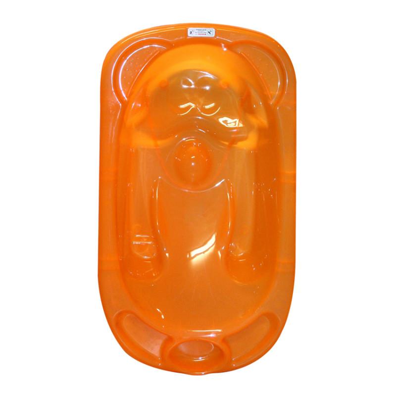 Анатомична вана със стойка 95 см, оранжева  244608