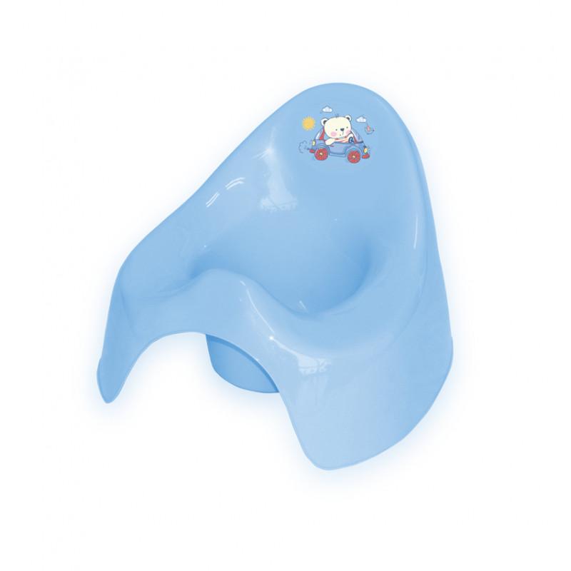 Детско музикално гърне, светло синьо  244620