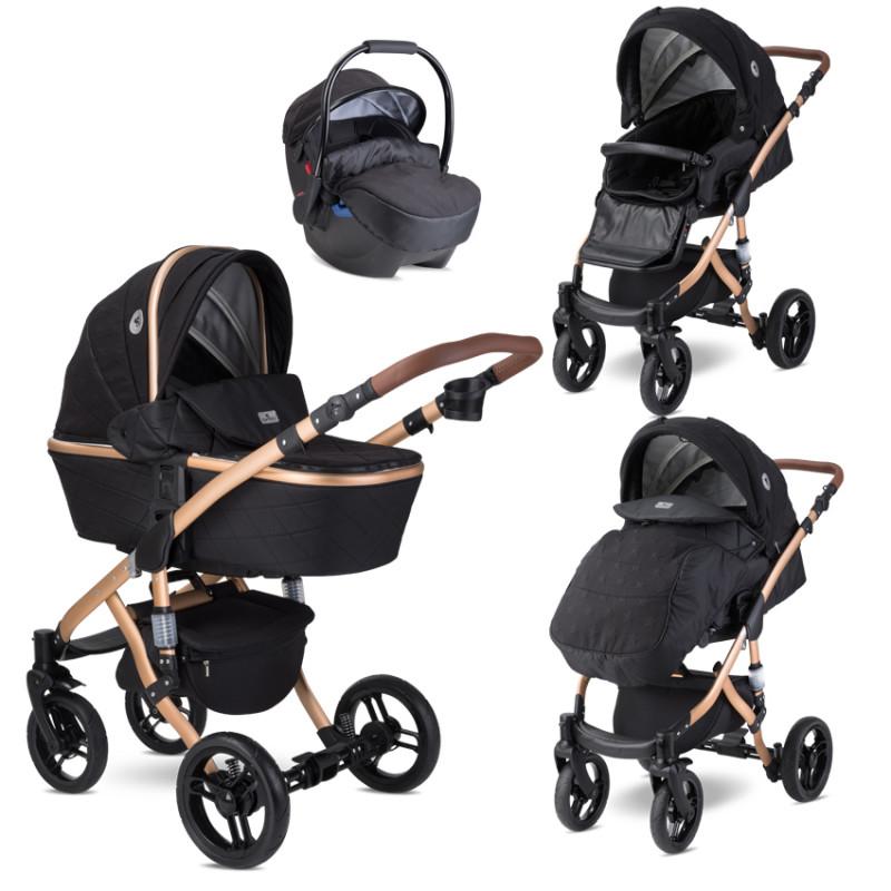 Комбинирана количка Rimini Premium Black Stars, 2 в 1  244753