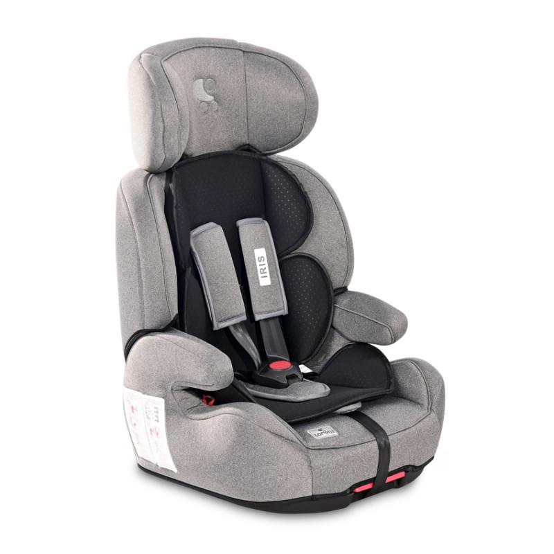 Стол за кола Iris ISOFIX 9-36 кг Steel & Black  244866