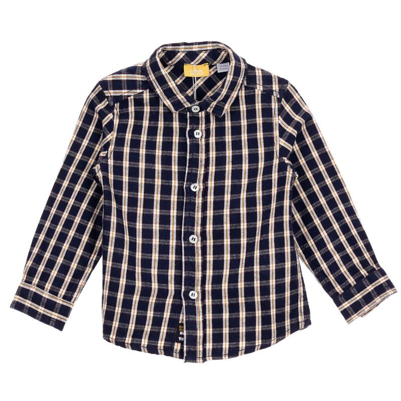 Памучна карирана риза за бебе  245201