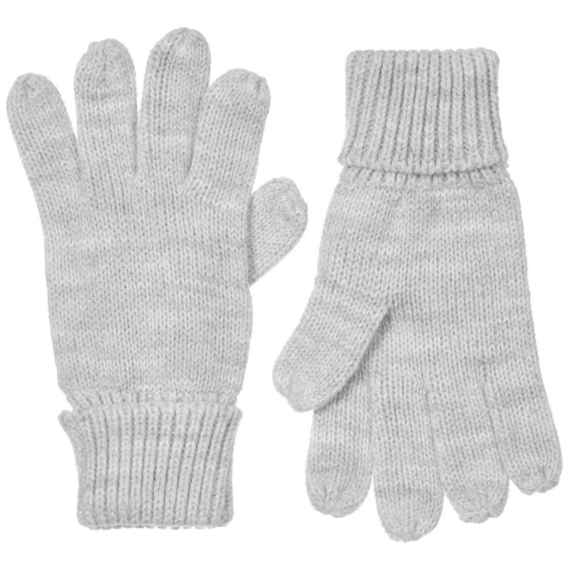 Плетени ръкавици, сиви  245365