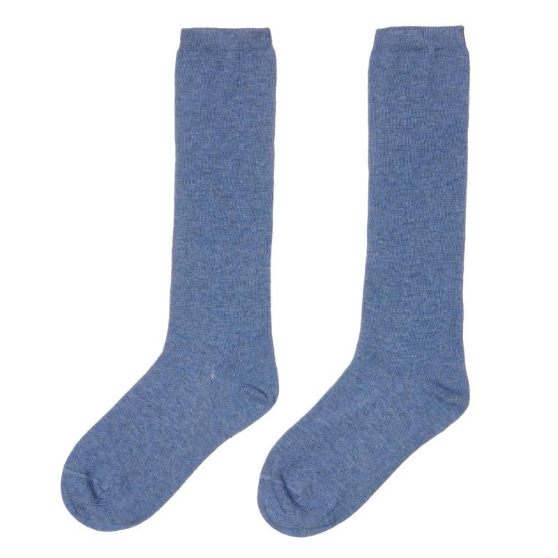 Чорапи с 3/4 дължина, сини  245574