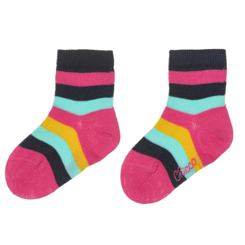 Раирани чорапи за бебе  245614