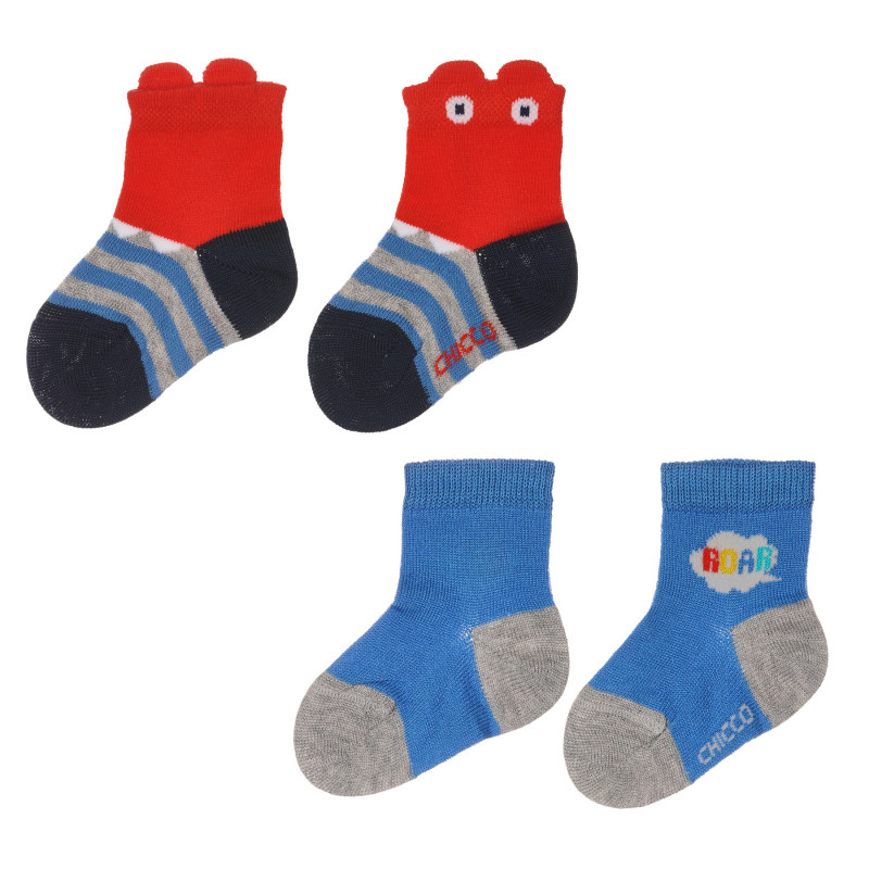 Комплект от два чифта чорапи Roar за бебе  245623