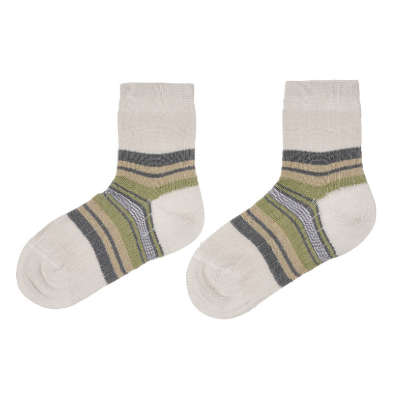 Раирани чорапи, многоцветни  245657