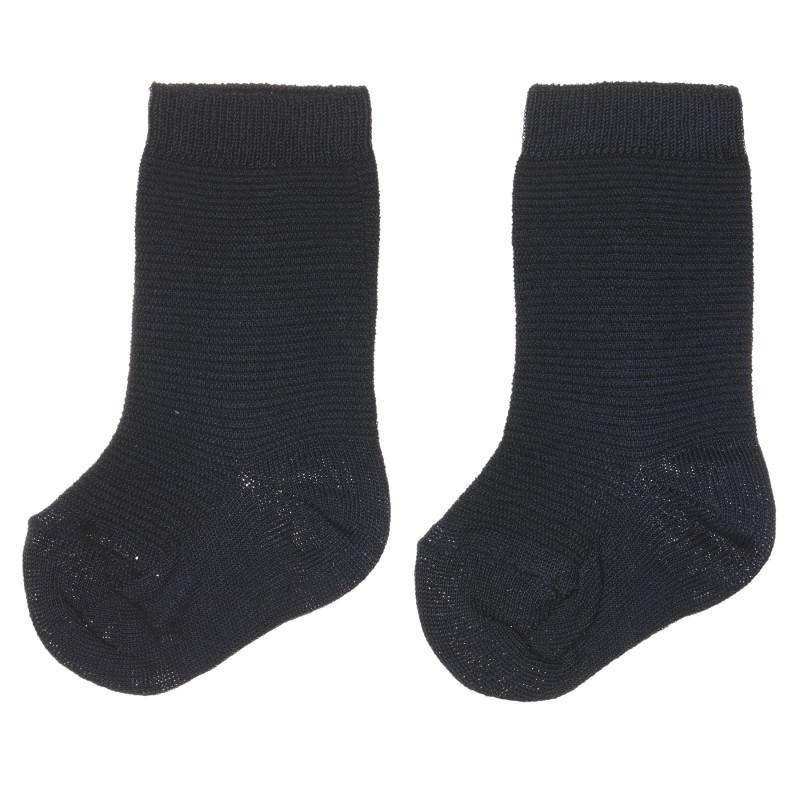 Чорапи за бебе, тъмно сини  245807