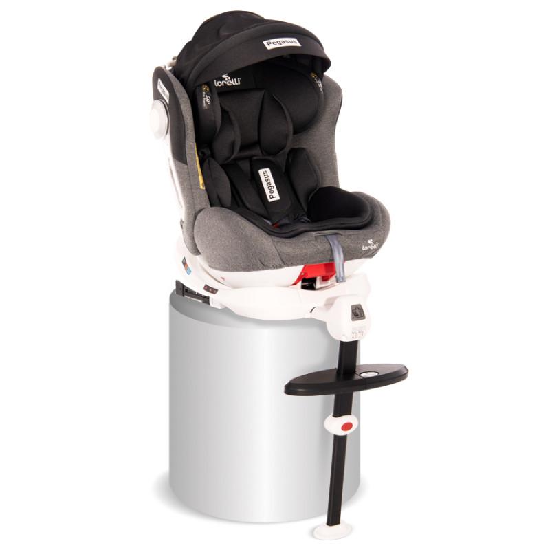 Стол за кола Pegasus Isofix 0-36 кг Light & Dark Grey  246597