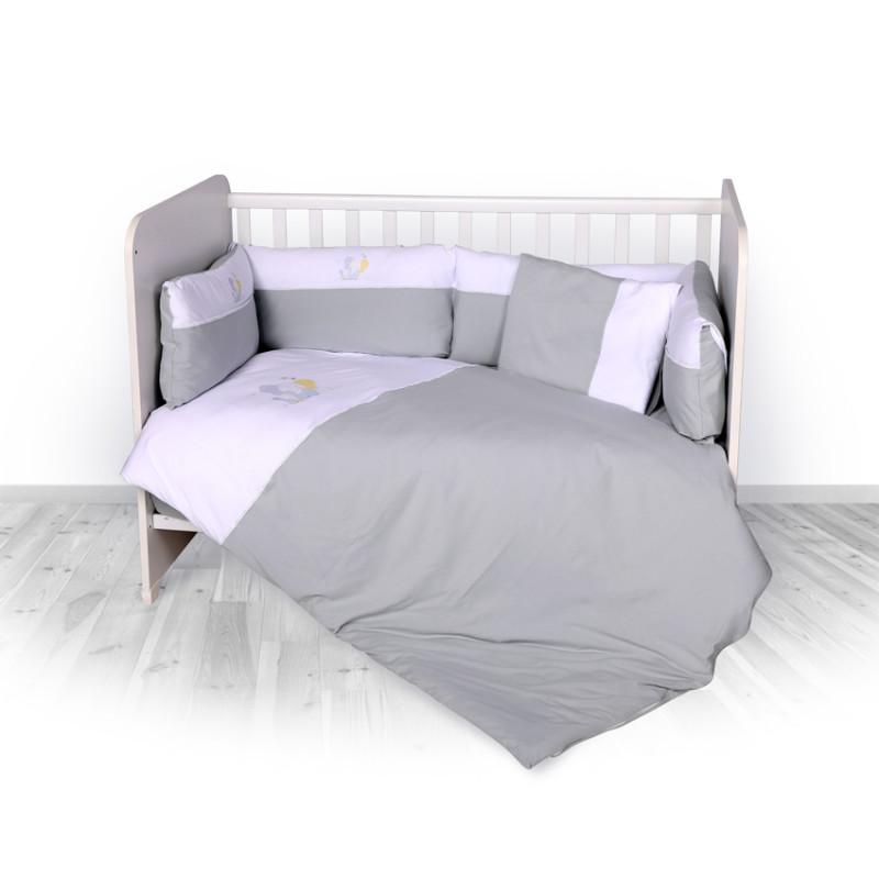 Спален комплект 7 части Jersey Zaza, Сив  246710