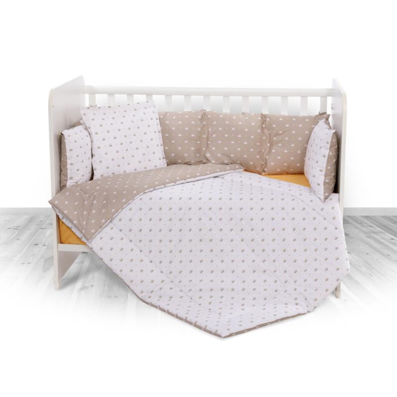 Спален комплект 4 части Lily Корони, лате  246732