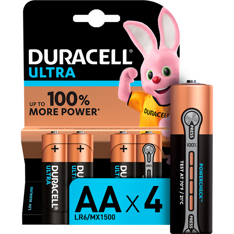 Батерии Ultra, АА, LR6, 4 бр.  246750
