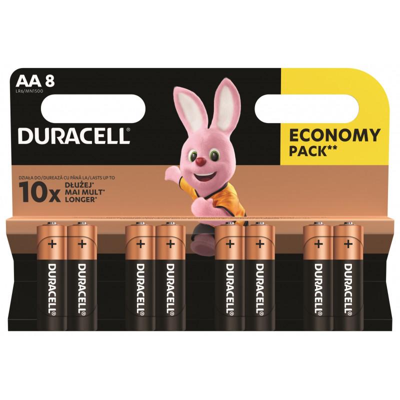 Алкални батерии, AA, LR6, 8 бр.  246756