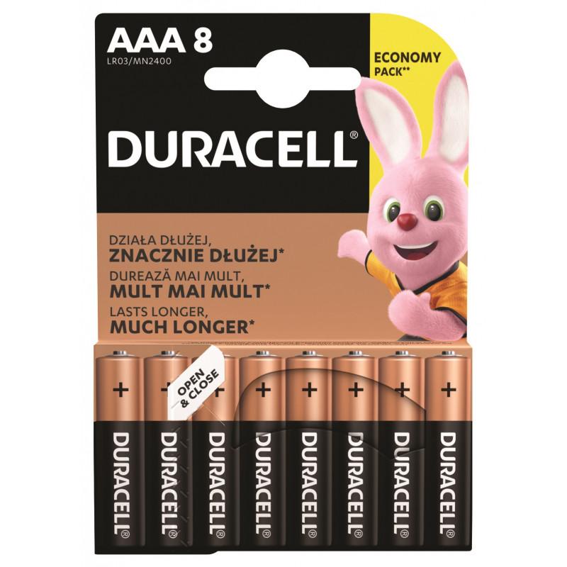 Алкални батерии, AAА, LR03, 8 бр.  246758