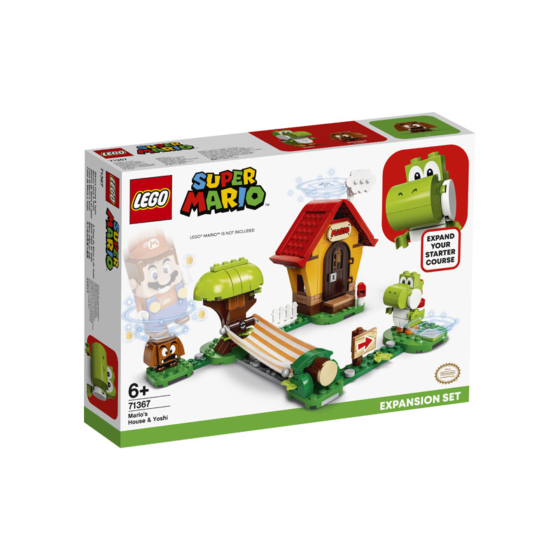 Конструктор - Допълнение Mario's House & Yoshi, 205 части  247499