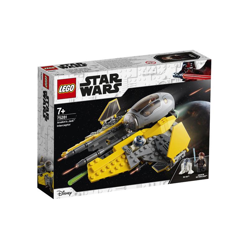 Конструктор - Anakin's Jedi™ Interceptor, 248 части  247512