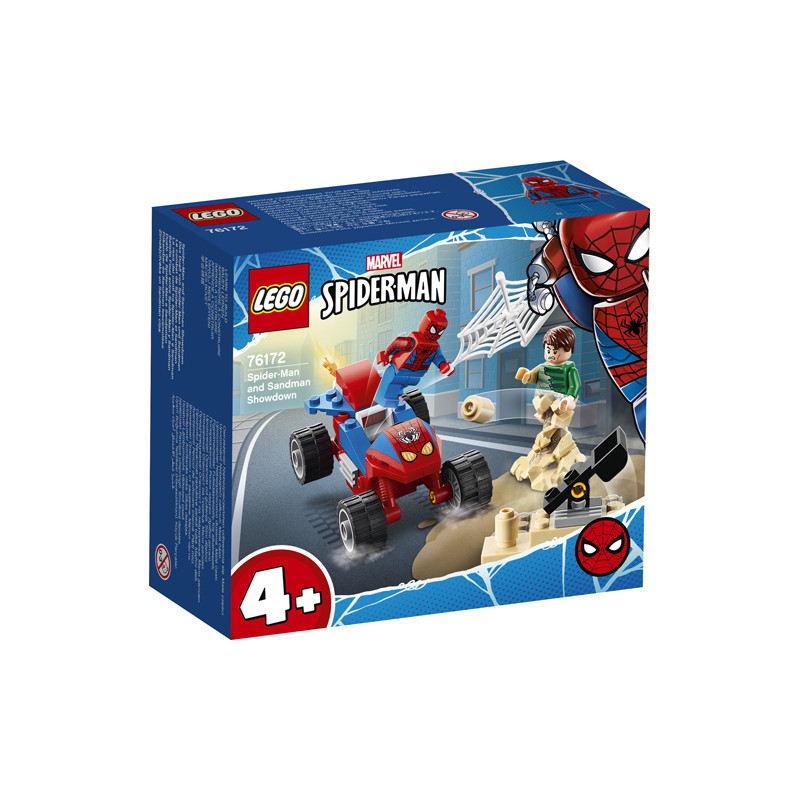 Конструктор - Схватка между Spider-man и Sandman, 45 части  247516
