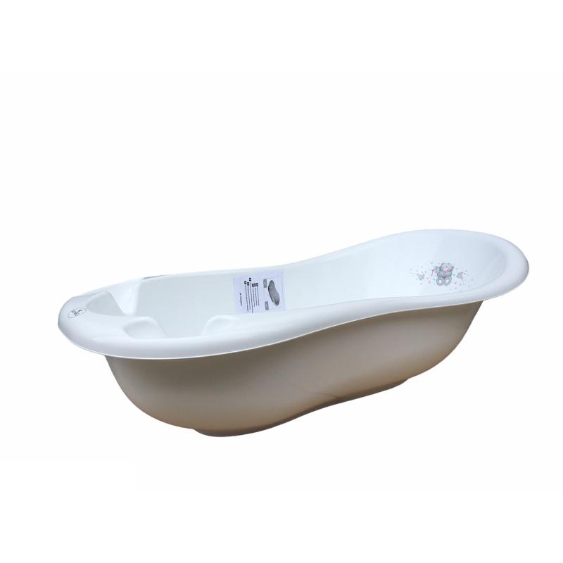 Вана за къпане 100 см Bear, бяла  247793