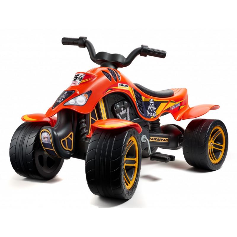 Детско АТВ с педали, Dakar - оранжево  247872