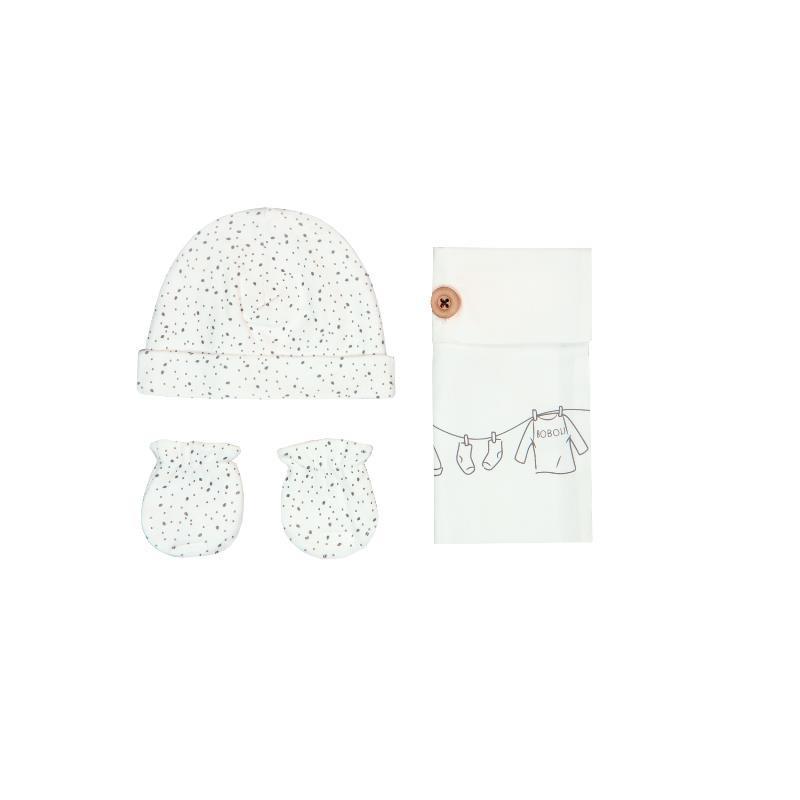 Комплект шапка и ръкавички бебе - унисекс  25