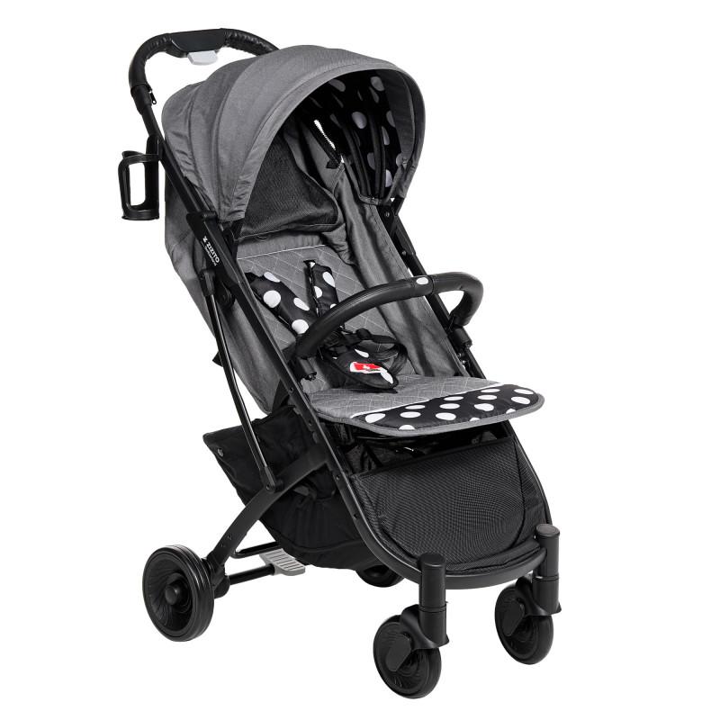 Лятна бебешка количка Sandra, с бели точки  253441