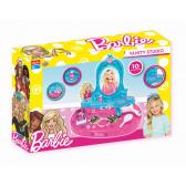 Комплект тоалетка с огледало и аксесоари Barbie 25500