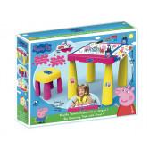 """Голяма маса за оцветяване и стол - """"peppa pig"""" Peppa pig 25509"""