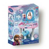 Комплект тоалетка с огледало, столче и козметика Frozen 25527