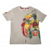 Памучна тениска за момче Boboli 25722
