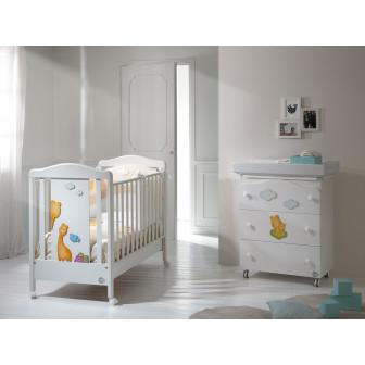 """Дървена кошара - """"жирафчета"""" Baby Expert 2575"""