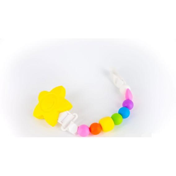 """Клипс за биберон """"lollipops and more"""" в наситени цветове Lollipops &More 25868"""