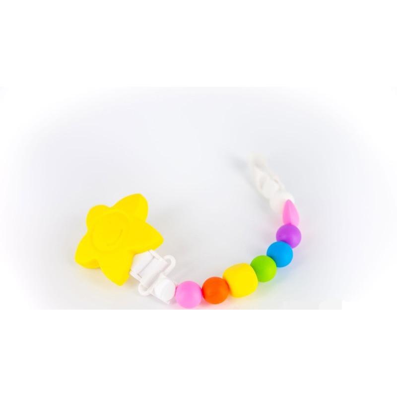 """Клипс за биберон """"lollipops and more"""" в наситени цветове  25868"""
