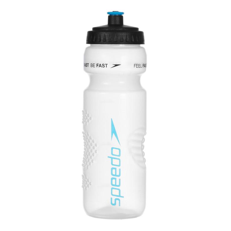 Пластмасова бутилка за вода - 800 мл., бяла  266341