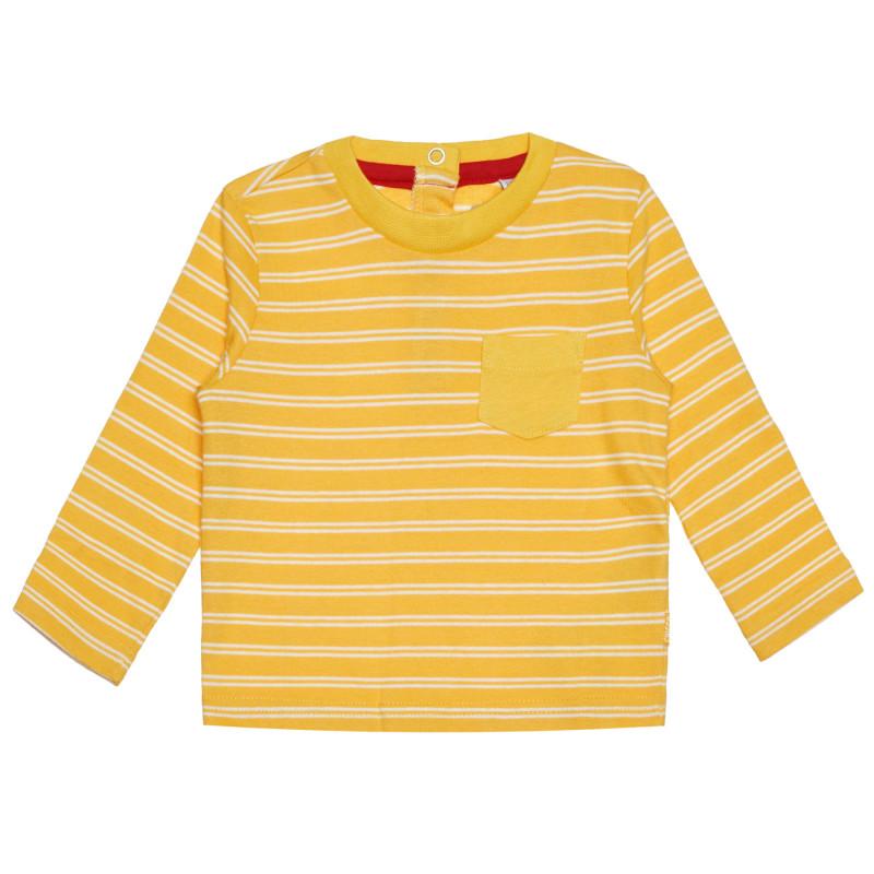 Памучна раирана блуза за бебе  266414