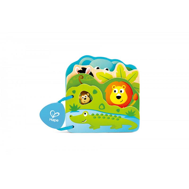 Бебешка книжка с диви животни  266542