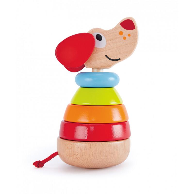 Музикално кученце с цветни рингове  266550