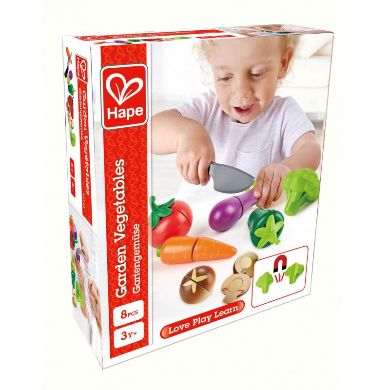 Дървен комплект - Зеленчуци  266570
