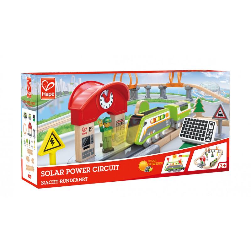 Железопътен комплект с енергиен влак  266581