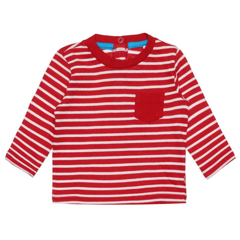 Памучна раирана блуза за бебе  266849
