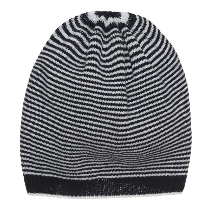 Памучна шапка за бебе на райе  267189