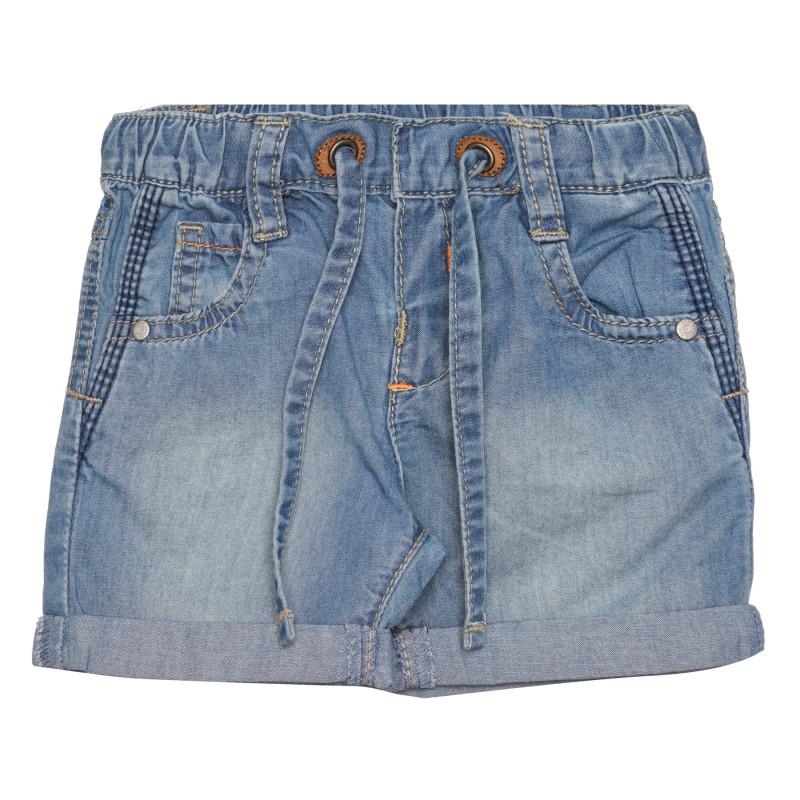 Къси панталонки за бебе, сини  267383
