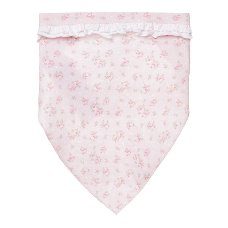 Памучна кърпа за глава за бебе с флорален принт  267415