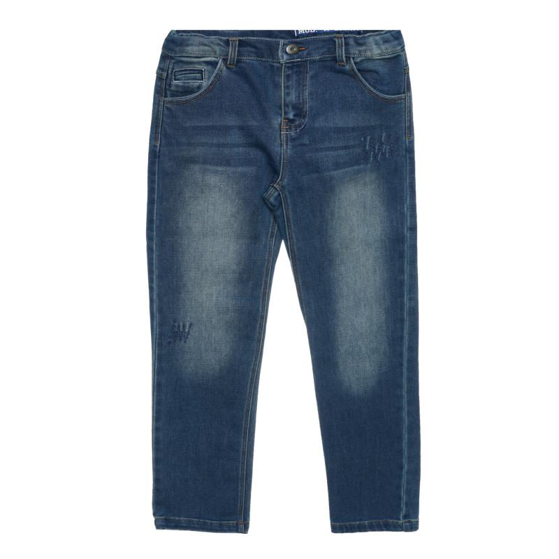 Дънки с пет джоба, сини  267444