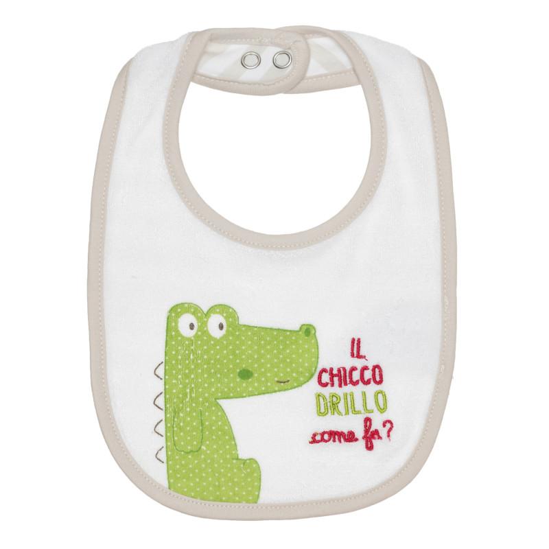 """Лигавник за бебе """"крокодил""""  267556"""