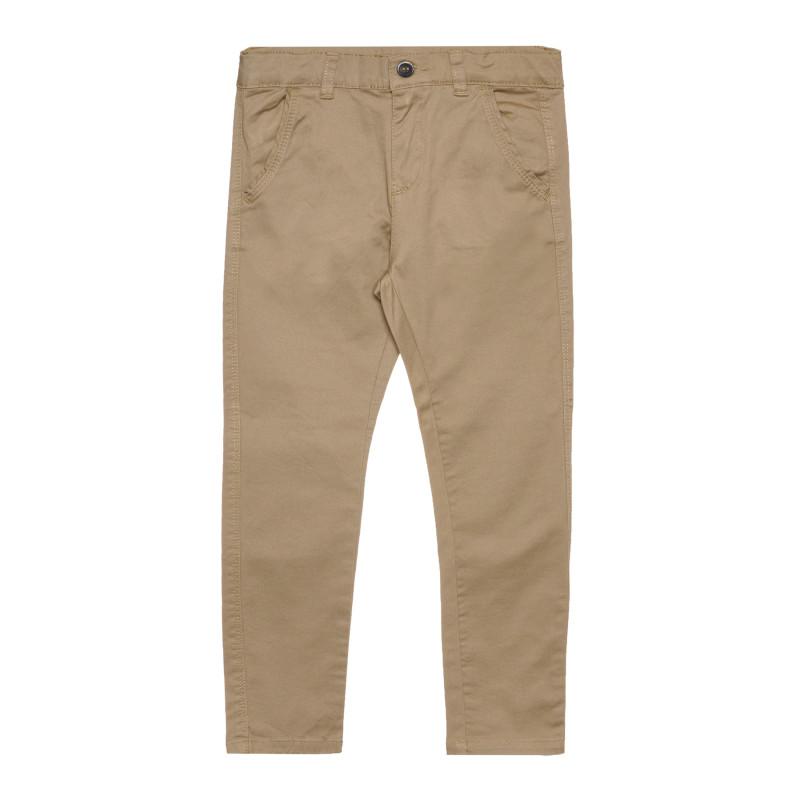 Памучен панталон, бежов  267580