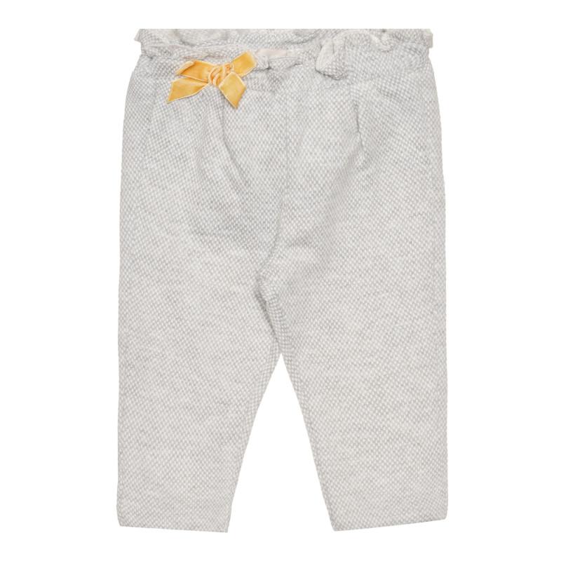 Панталон за бебе, сив  267584