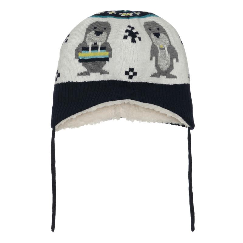 """Зимна шапка """"тюлени"""" за бебе  267596"""