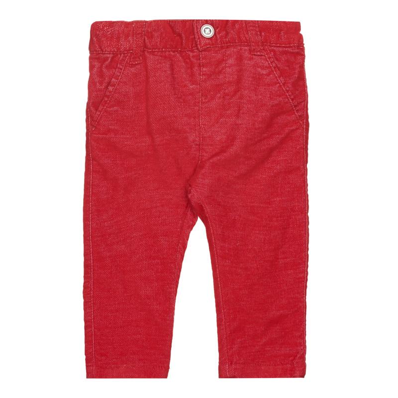 Панталон за бебе, червен  267624