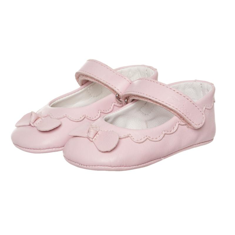Буйки тип балеринки за бебе, розови  267790