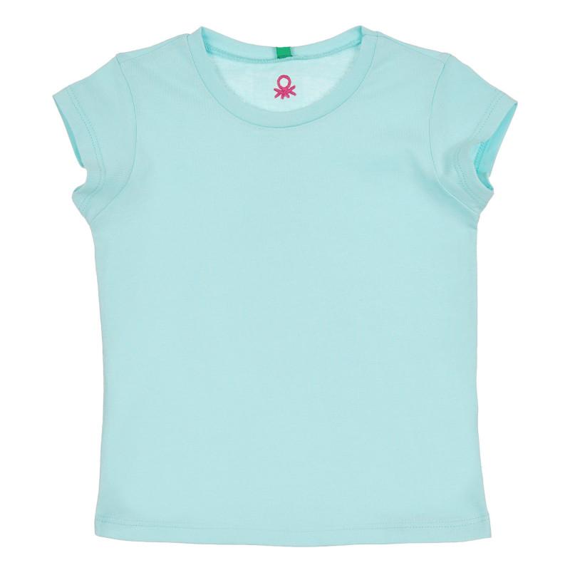 Памучна тениска, светлосиня  268280