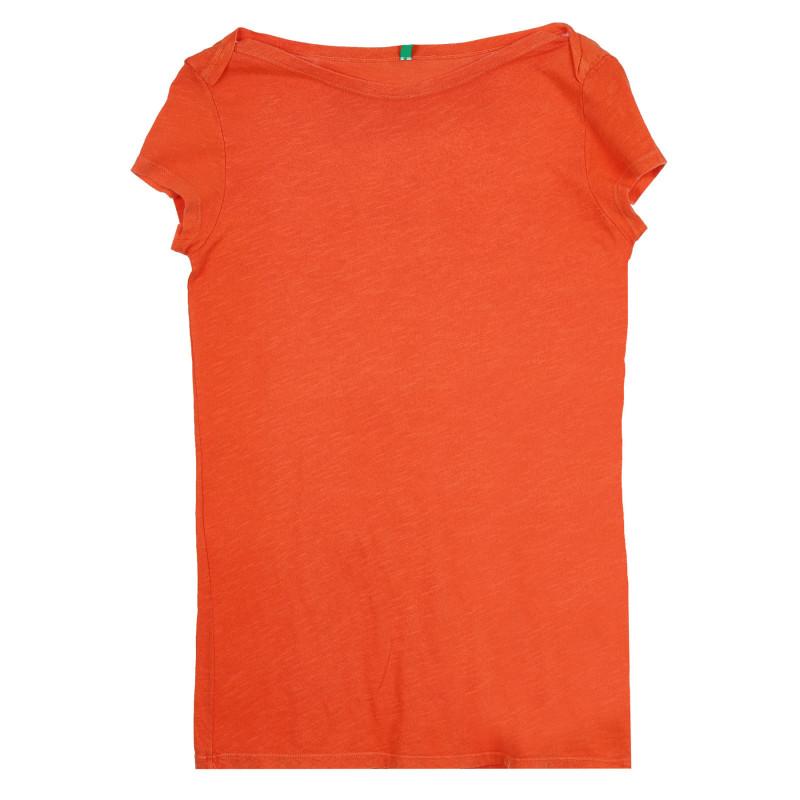 Памучна тениска, оранжева  268528